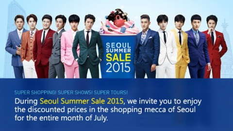 2015 Seoul Summer Sale (~2015/7/31) special offer