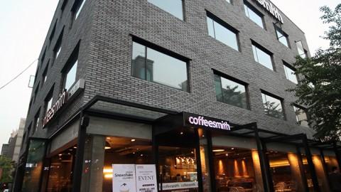 커피스미스, 본사 사옥 용도로 강남 테헤란로에 건물 매입