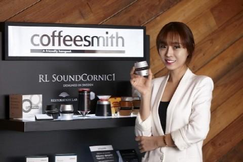 커피스미스, 리스토레이션 랩과 제휴, 고객이 참여하는 스마트 디바이스 체험 공간으로