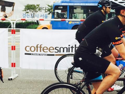 2016 듀애슬론 대회 커피스미스 공식 스폰서 기업