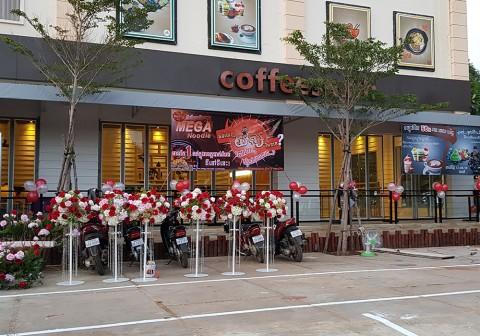 커피스미스 캄보디아 1호점_바탐방점 오픈