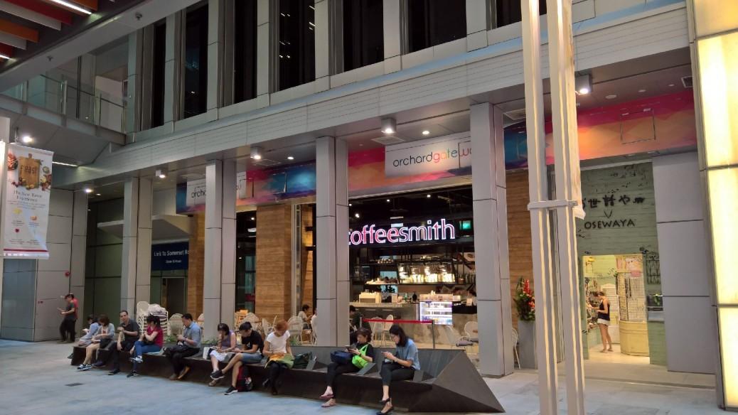 싱가포르 오차드게이트점 (2)