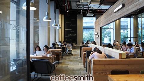 서울도심권 서울역에 커피스미스 메트로타워점 성황리에 오픈