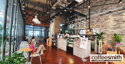 커피스미스, 구리돌다리점 성황리에 오픈